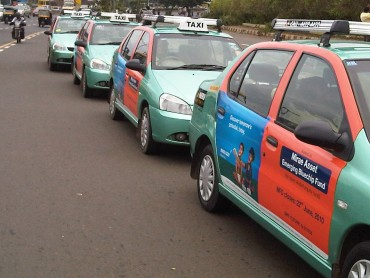 Taxi Advertising in Bangalore